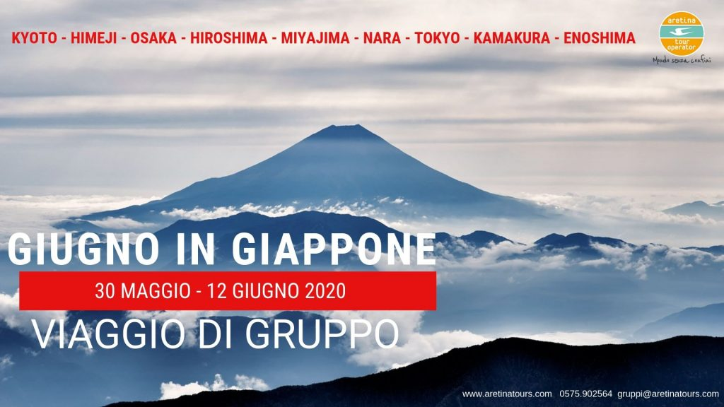 tour gruppo Giappone Giugno